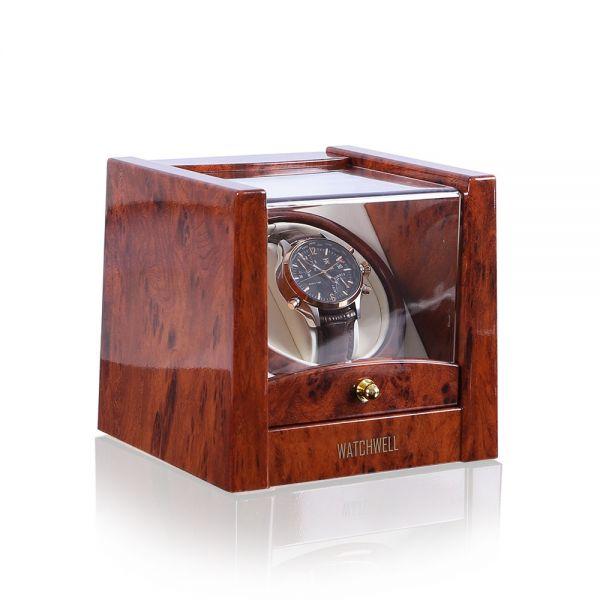Watch Winder Lupo V2 - Burl Wood