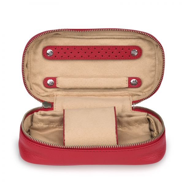 Soft Jewelry Case - Red M
