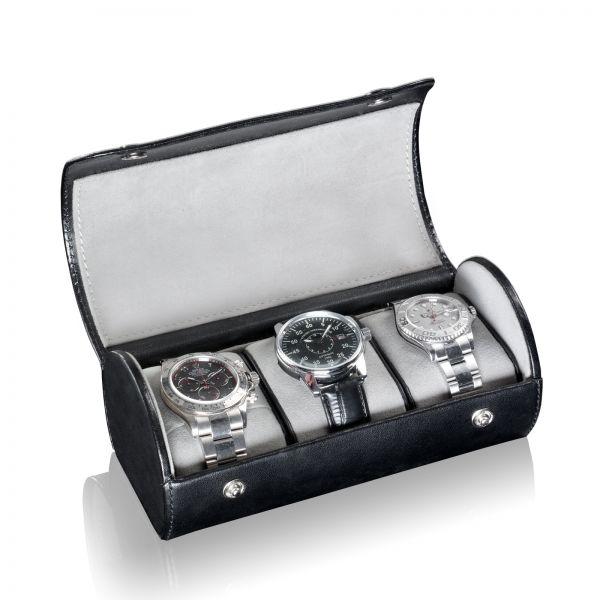 Uhrenbox James 3 - Schwarz