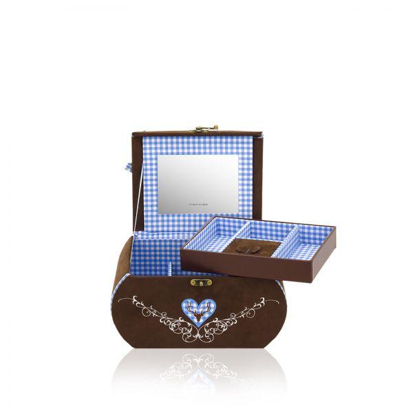 Boite a Bijoux Sissi - Bleu