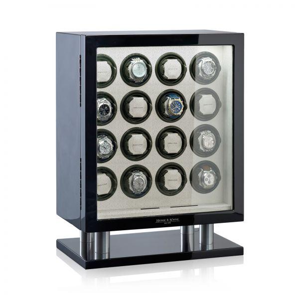 Uhrenbeweger Collector 16 Prime - Schwarz