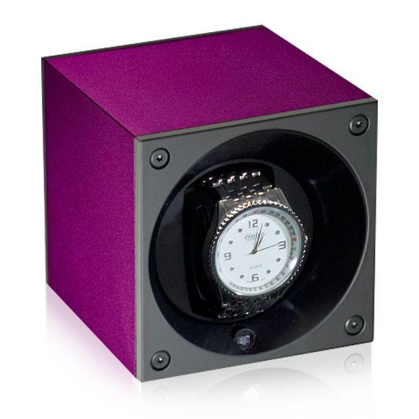 Watch Winder Alu Masterbox - Purple