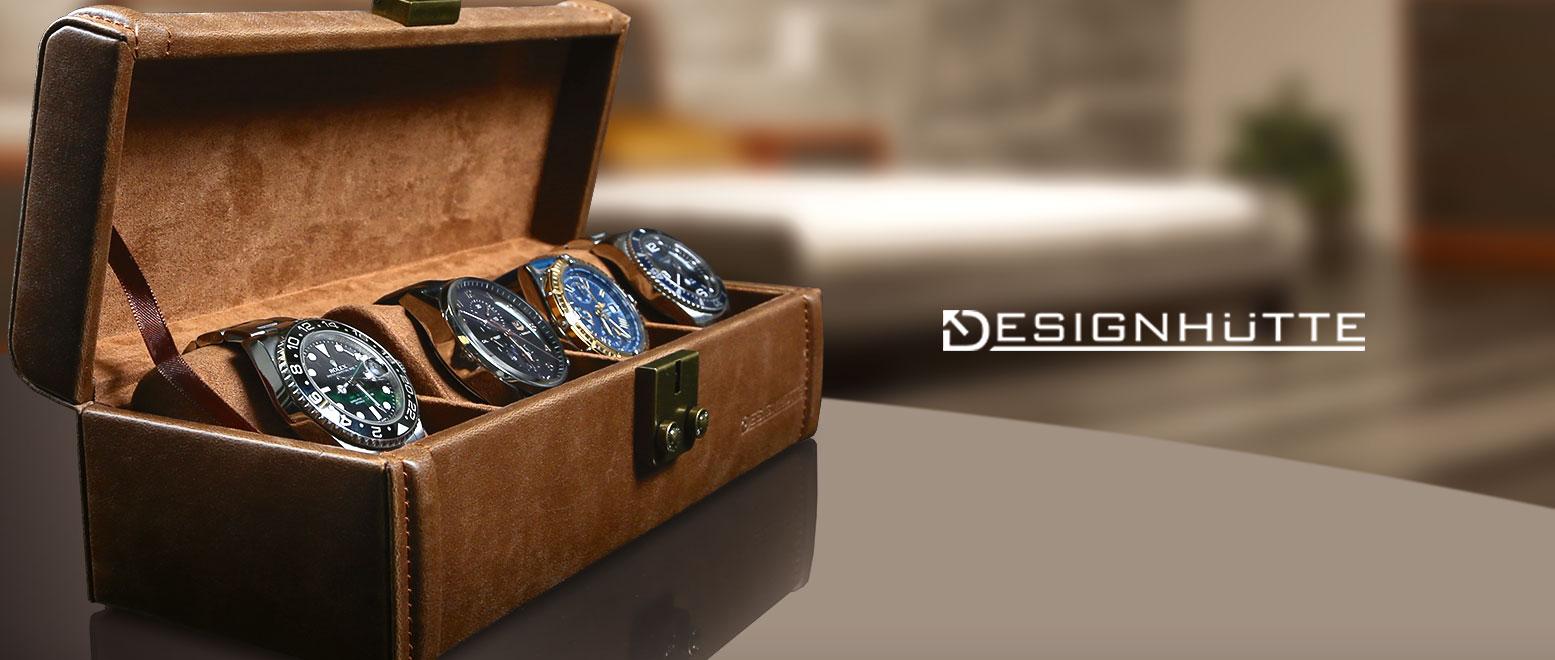 Designhütte Uhrenboxen