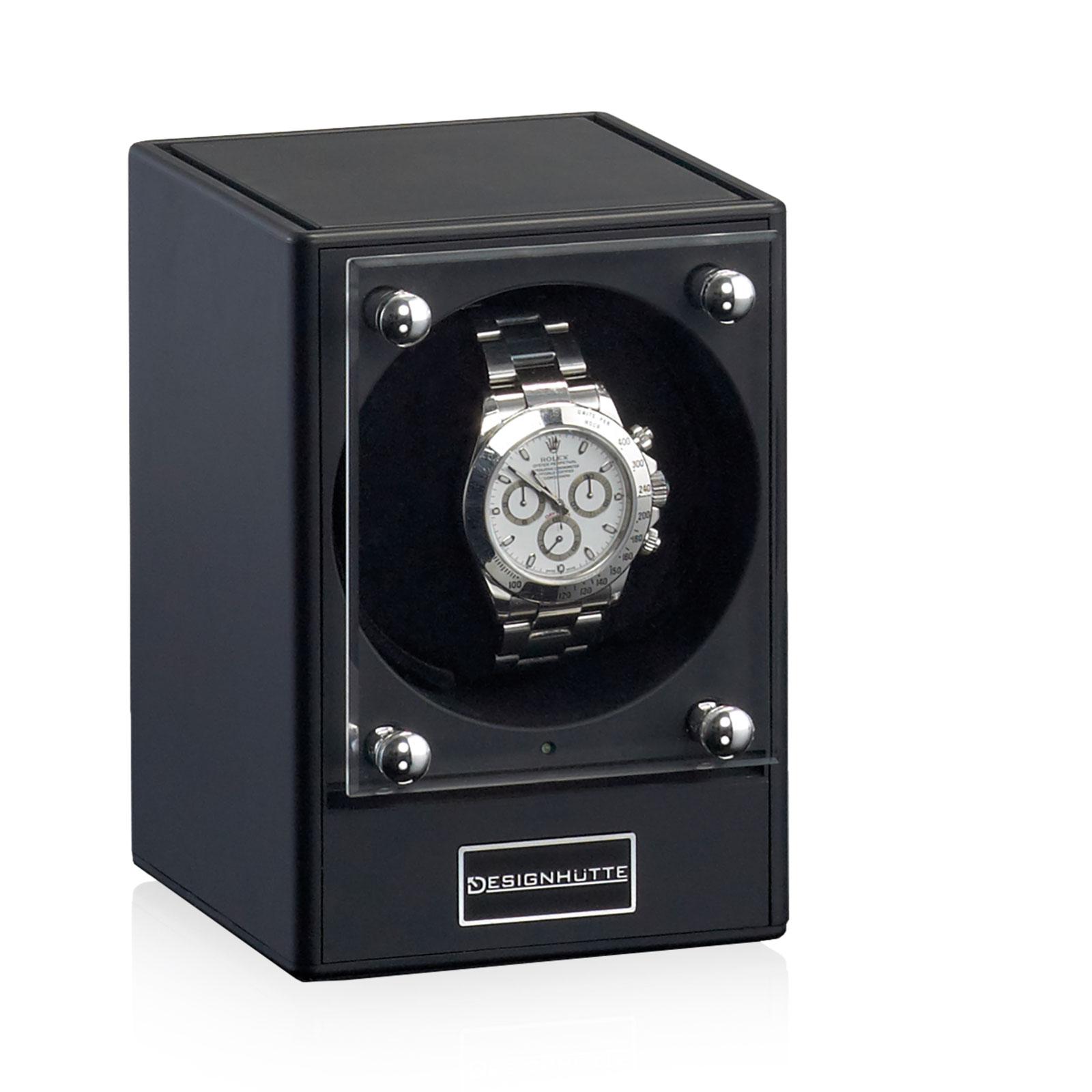 Betere Uhrenbeweger Designhütte   Piccolo 2 Schwarz   Designhuette Store AG-84